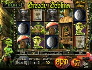 Greedy Goblins free spince