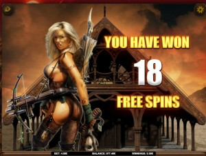 Heavy Metal Warriors free spins