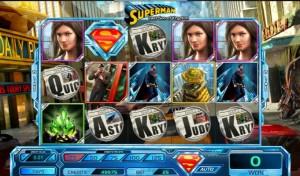 Superman Last Son of Krypton оформление игрового автомата