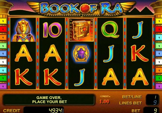игровой автомат Book of Ra free spin