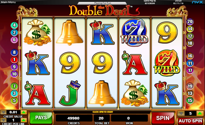 игровой автомат Double the Devil