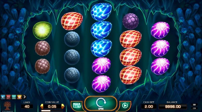 игровой автомат Draglings