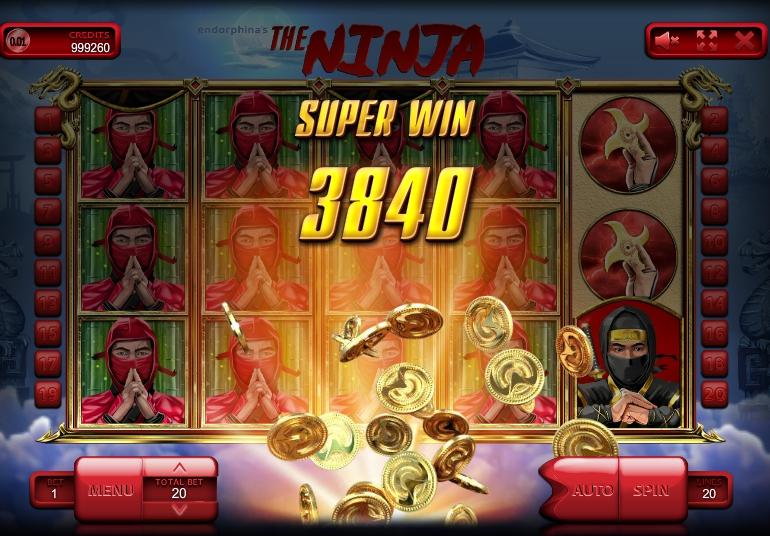игровой автомат Ninja выигрыш