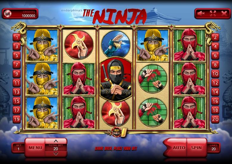 игровой автомат Ninja