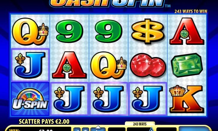 Бесплатные спины в автомате Cash Spin
