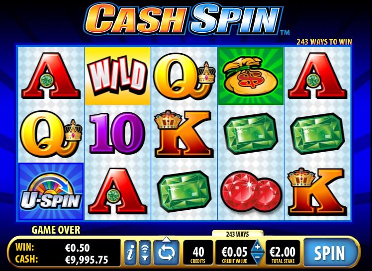 игровой автомат Cash Spin бонусная игра
