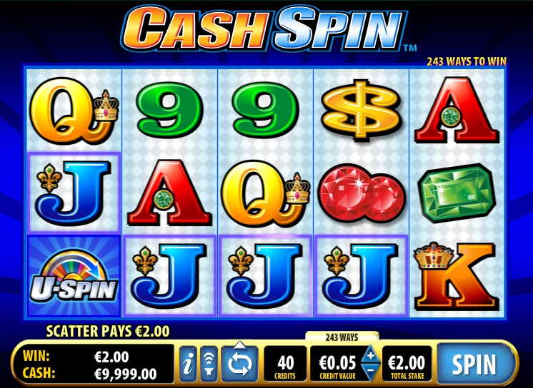 игровой автомат Cash Spin
