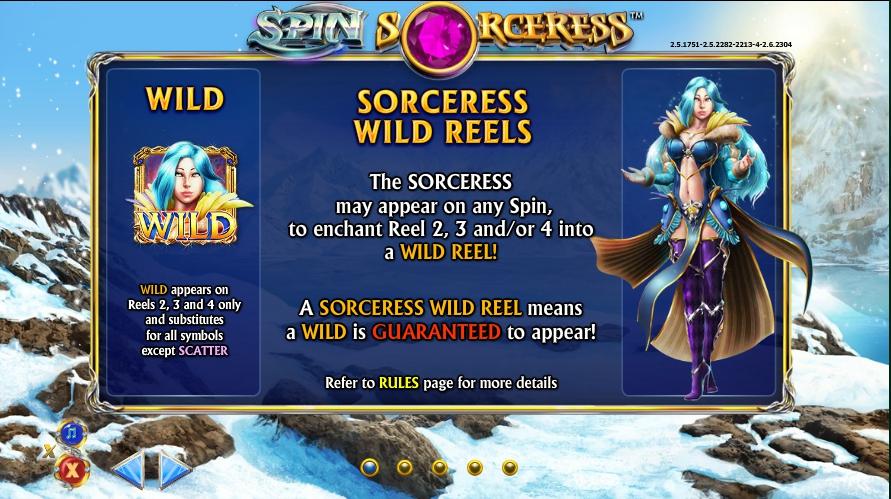 игровой автомат Spin Sorceress wild