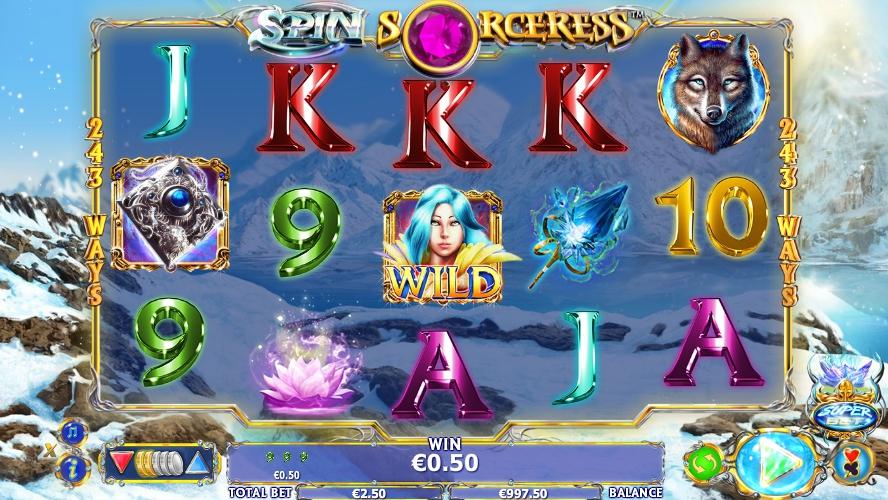 игровой автомат Spin Sorceress